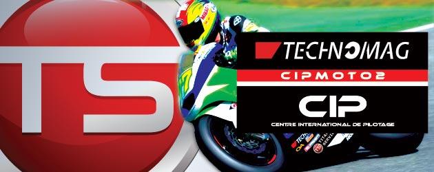 TITANIUM SERVICES Partenaire officiel du Team CIP TECHNOMAG MOTO2